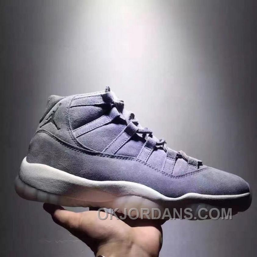 Air Jordan 11 Space Jam Grey Suede