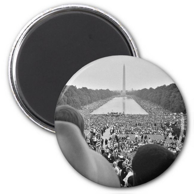 1963 Civil Rights March on Washington DC Magnet