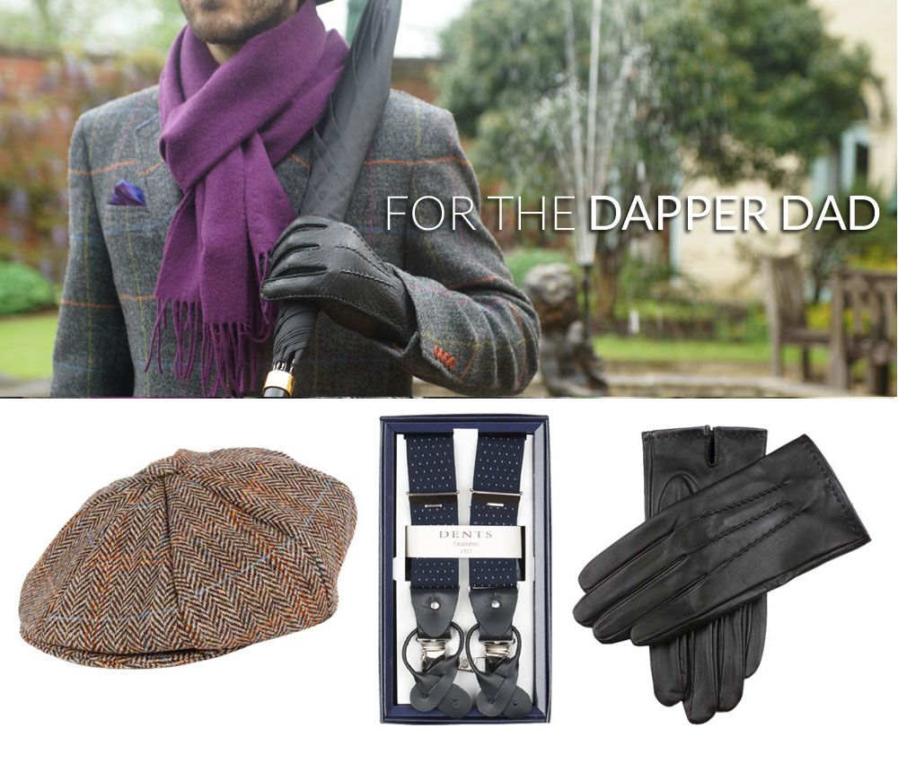 4591e8ba0cb For the dapper dad  keep him well dressed with a flat cap