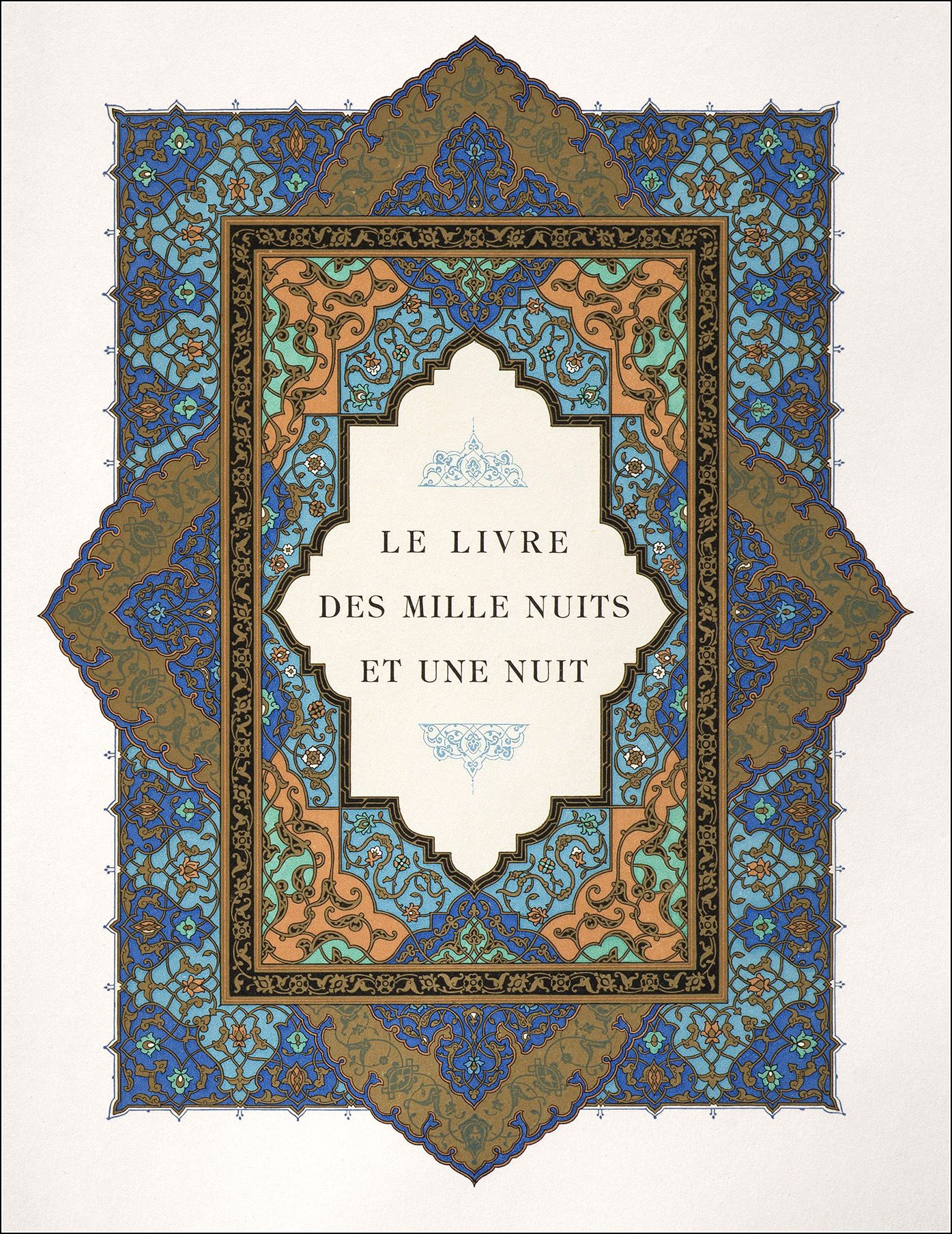 Le Livre Des Mille Et Une Nuits Traduction Littérale Et Complète Du