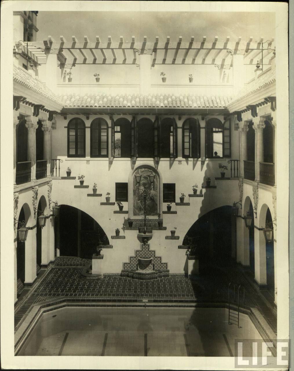 Interior de la casa espa a a os 50 san juan puerto rico - La casa vintage ...