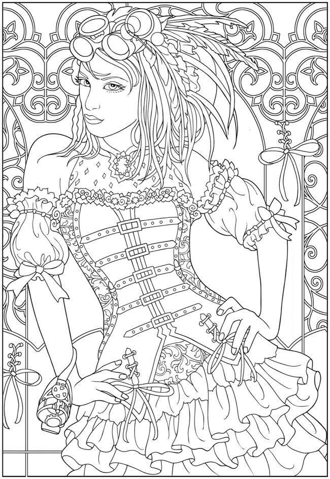 Pin de Rosa Aguirre-Sweet en adult coloring pages | Pinterest