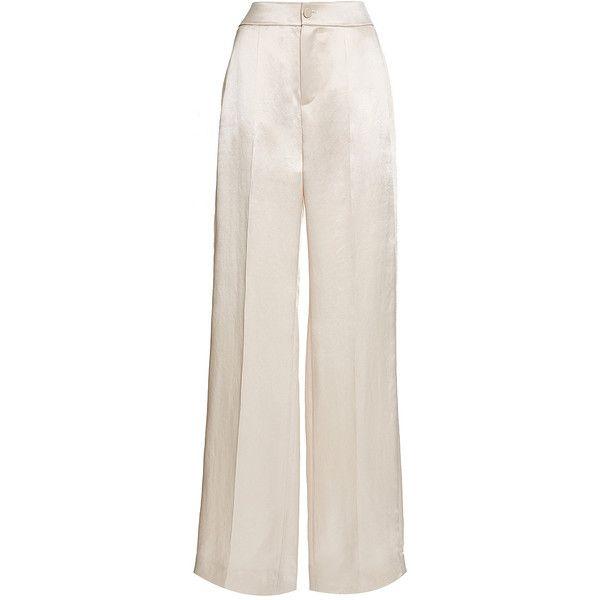 Grande Hauteur Pantalon Large - Rose Et Violet Lanvin 364g1LM