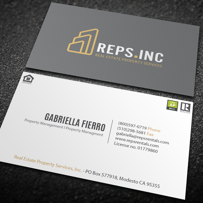 Create a trendy hip but professional business card for urban create a trendy hip but professional business card for urban property management by an designer colourmoves