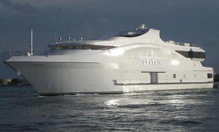 SeaFair's Majestic Luxe Mega Yacht Is Eventful