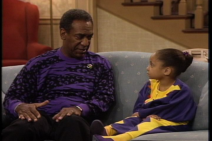 Purple Horseshoe Lightning! Bill Cosby is on top of his fashion game with these sweaters.