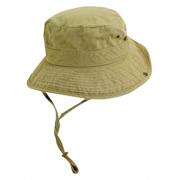 222b2ae9bb7 Dorfman Pacific Outdoor Khaki   Black Bucket Hat Large