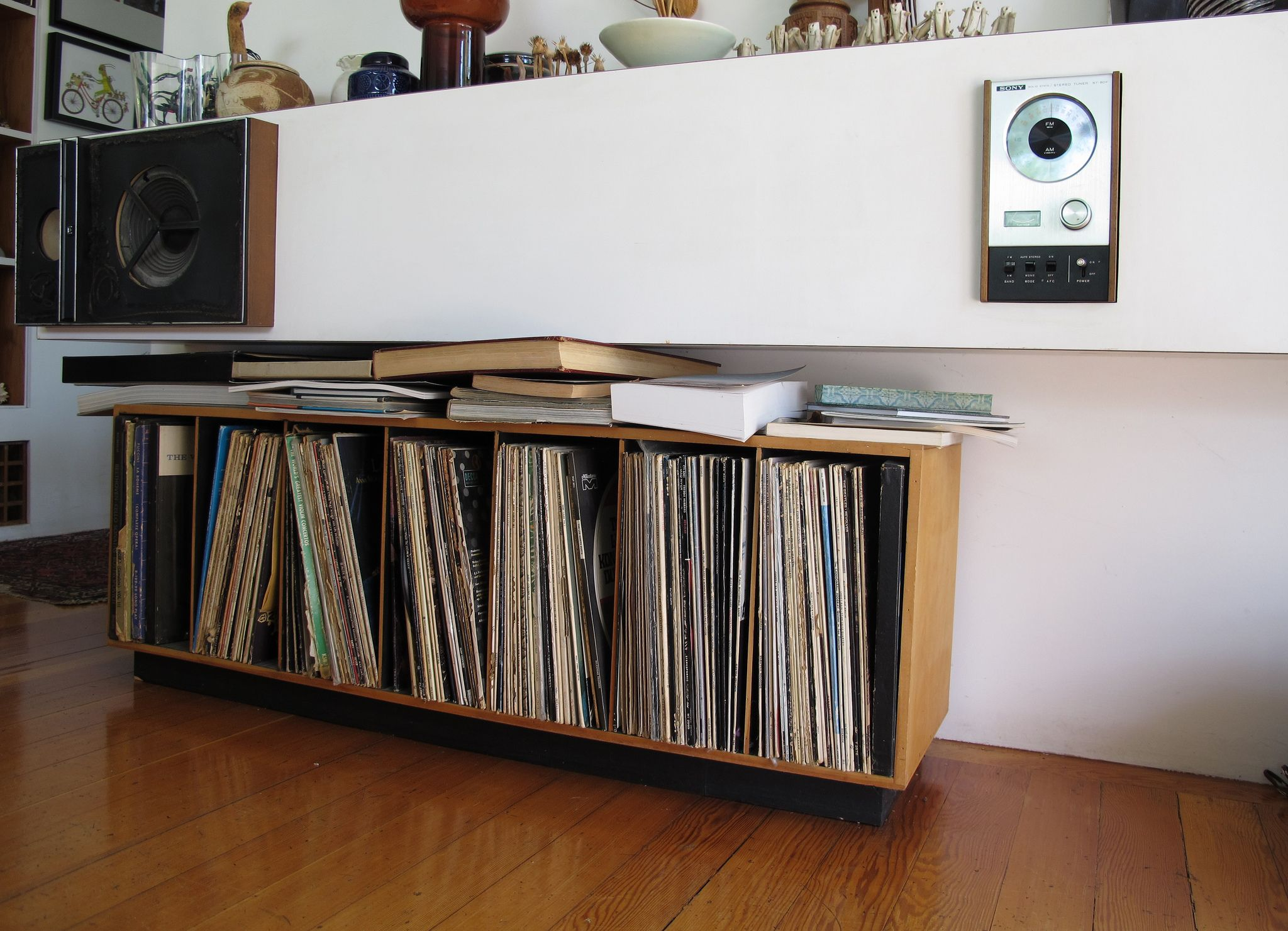 Another Idea For A Shelf To Hold Record Playerrecords
