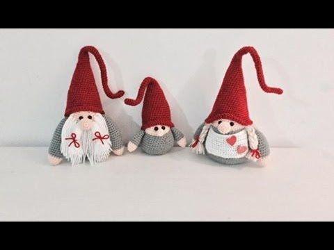 Amigurumi Navidad Nacimiento : Gnome de noël amigurumi crochet maman gnomo de navidad mama
