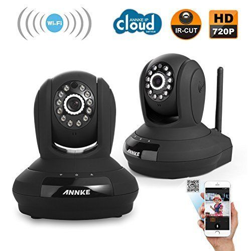 Annke Home Security 1280 X 720p Hd Cctv Wireless Network Ip Camera Easy Setup Home Remote Monitoring Syste Wireless Networking Ip Camera Video Security System