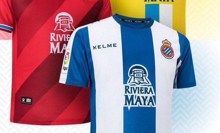 f68e573ab RCD Espanyol 2018 19 Kelme Home