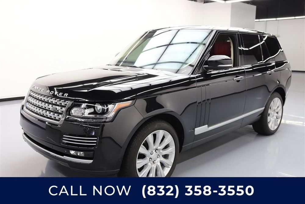 Land Rover Range Rover Supercharged Autobiography Texas