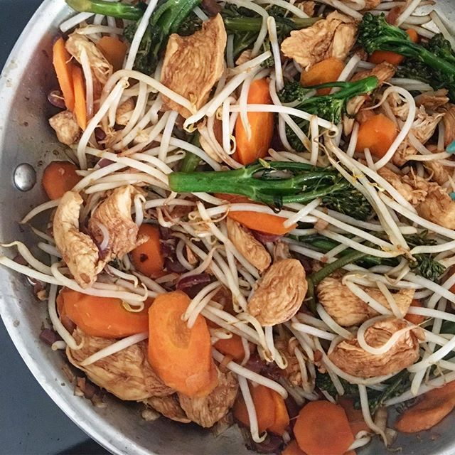 Stir Fry Sunday Over Here For Dinner Tonight While We