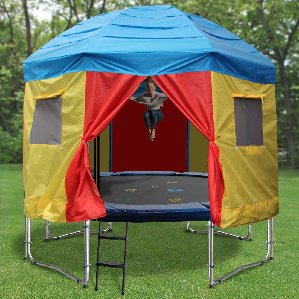 39 Awesome Tent Cover For Trampoline Images Trampoline Tent