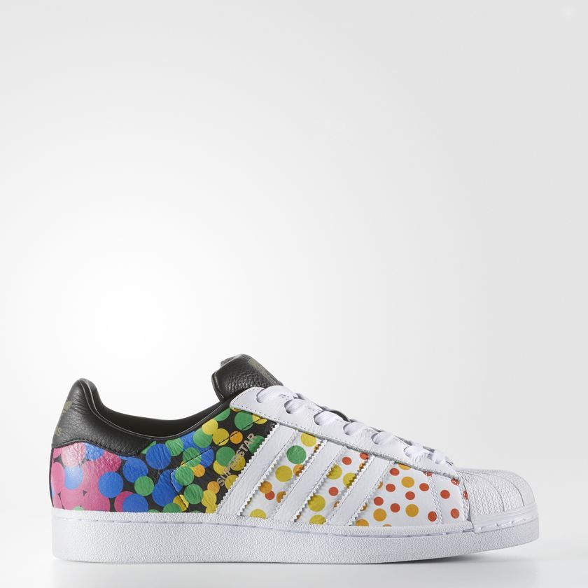 Adidas Pride Pack Superstar Shoes Footwear White Core Black CM7802