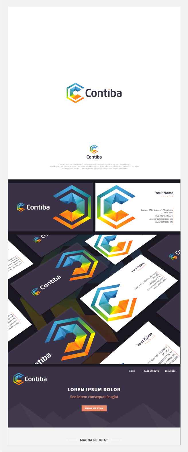 Winning Entry #82 for Logo And Business Card Design contest - Create ...