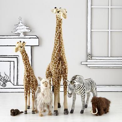 Kids Stuffed Animal Gigantic Large Plush Giraffe In Toys Land Of Nod