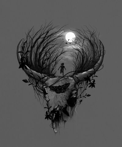 nice bleed, deer | Taurus tattoos