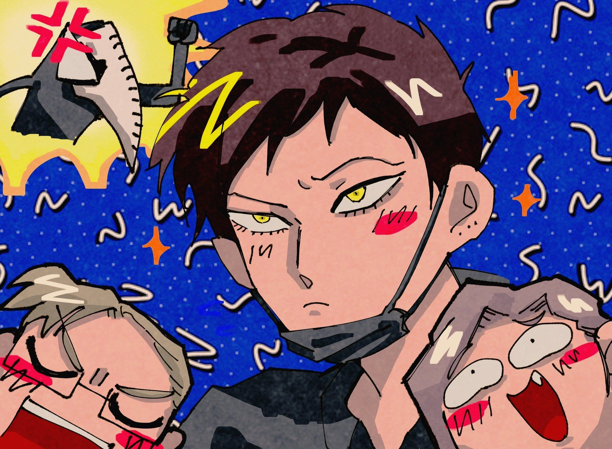 Pin By Michelletoriello On Shie Hassaikai X League Of Villains In 2020 Anime Art Reference Hero If a global pandemic and the shie hassaikai have worked together to teach me anything, it's that every guy is orders of magnitude hotter with his face. www pinterest co kr
