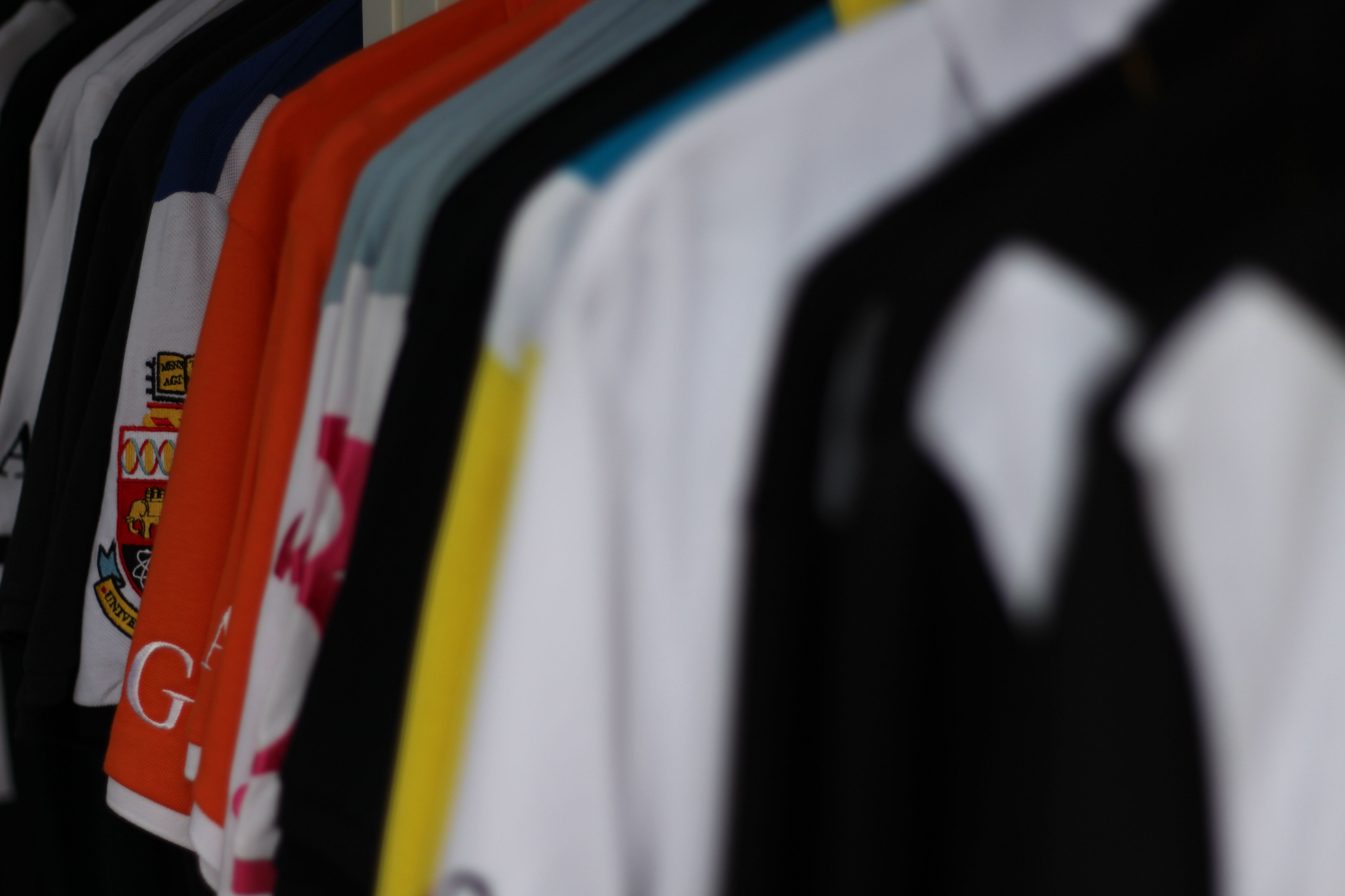 Our StaaG polo shirts with luxury detailing and innovative
