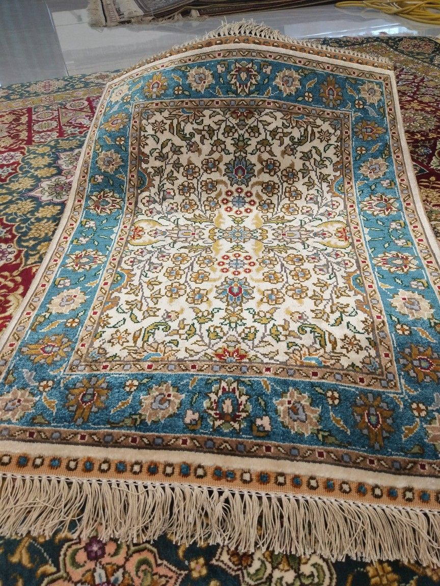 1 5x2ft Handmade Silk Carpet Whatsapp 86 185 6718 5850