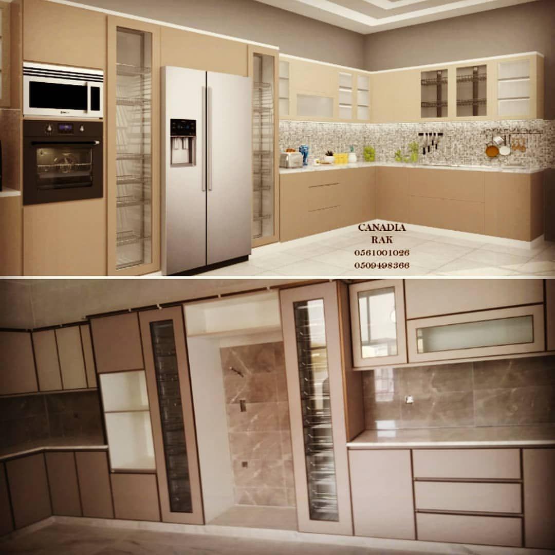 Alcanadianrak On Instagram مطبخ مودرن وتر بروف التصميم والتنفيذ Kitchen Kitchen Appliances Design