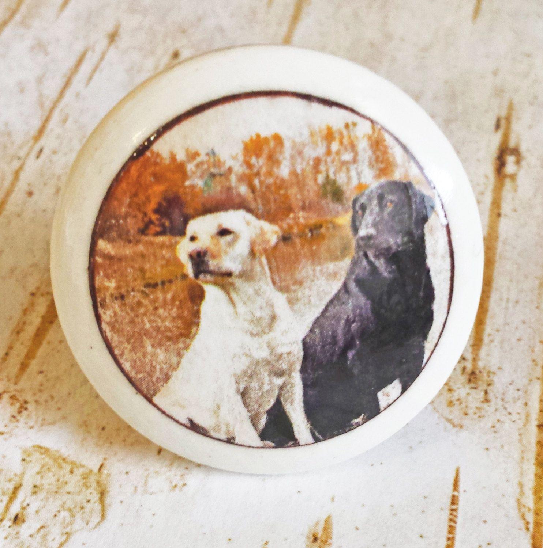 Lab Dog Knobs, Mans Best Friend Drawer Pulls, Cabinet Pull Handles, Pet Dog