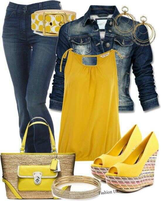 Lovely yellows