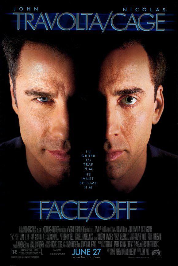 Face Off 11x17 Movie Poster 1997 Filmes De Accao Os Incriveis