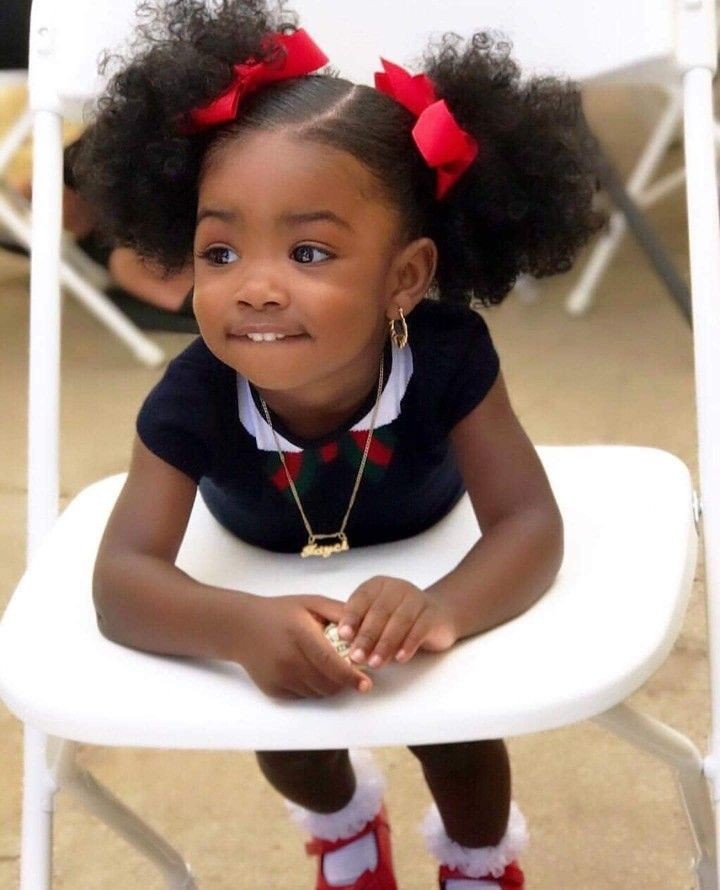 Pin by Lannette WH on Adorable | Black baby hairstyles, Black kids hairstyles, Cute black babies