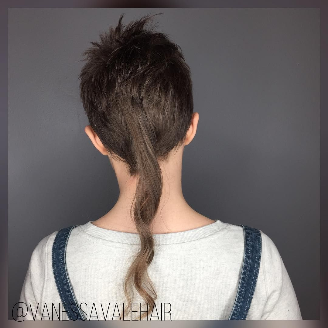 rattail #rattailgirl #shorthair  Artistic hair, Hair and beard