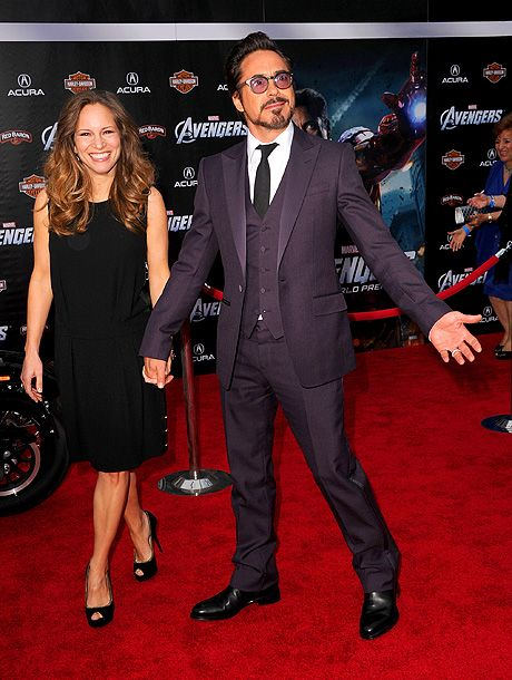 RDJ on who'd win in an Avengers smackdown: ''Well, not all of us are in the same weight class so it is hard to say between Hemsworth and Evans. I think they're pretty evenly matched. I think it would go to the ground. Then I think it's me, Ruffalo, and Renner in a quote-unquote three-way in which I lay waste to them with sleeper holds but then we cuddle. And then it is Hiddleston versus Johansson if I am not mistaken. That probably just winds up in dinner at a five-star restaurant…