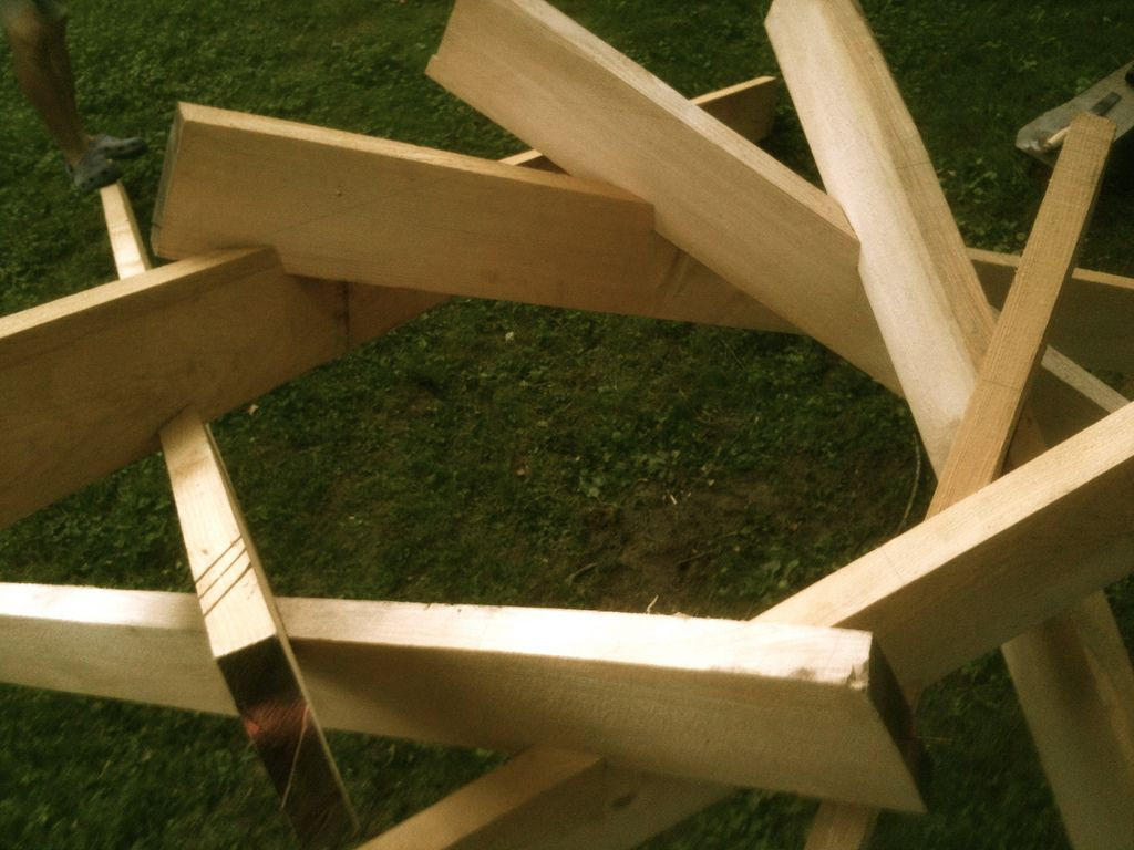Pin by Dasa Caitanya Candra on reciprocal roof | Timber ...