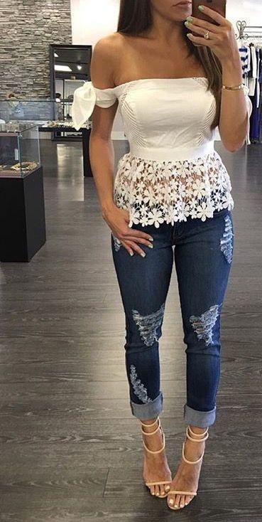 Cómo hacerte preciosos outfits con Blusas Peplum tengas la talla que tengas - El Cómo de las Cosas #blusas