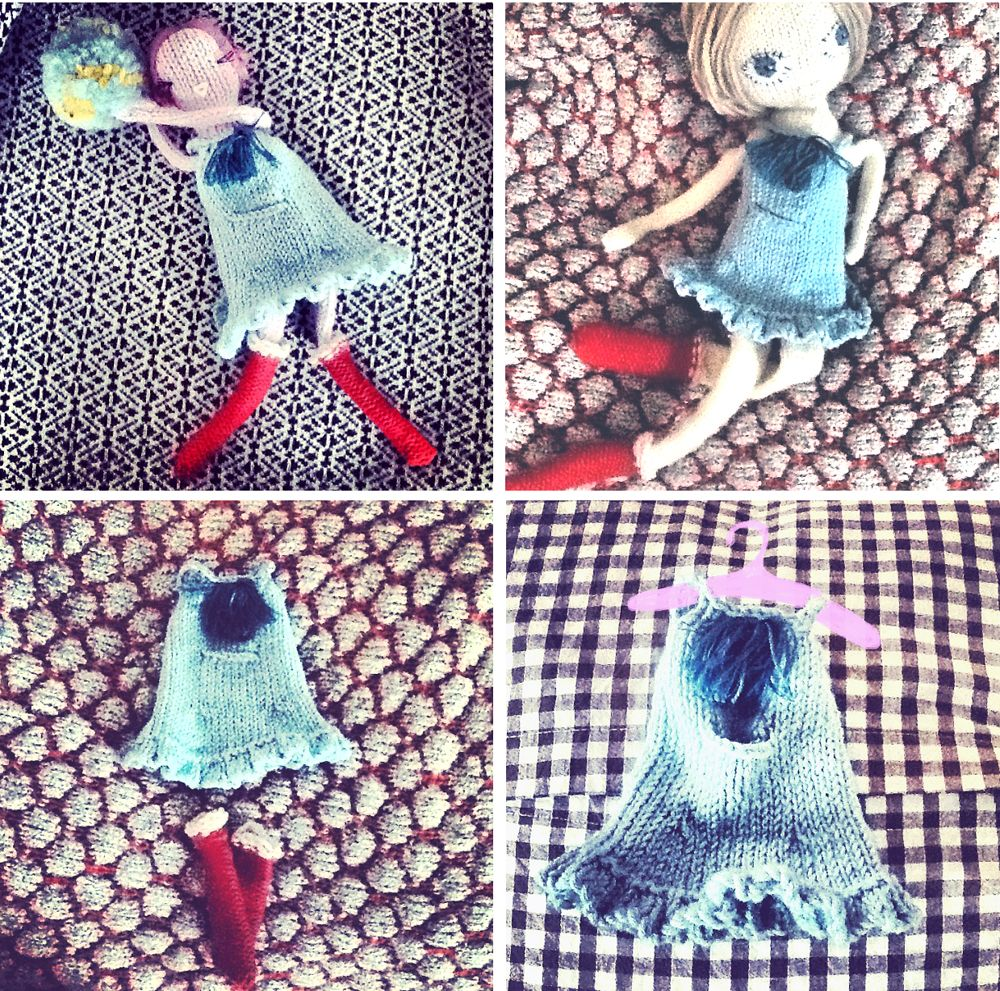 FREE PATTERN: Frilly little number & socks | Claire Garland ...