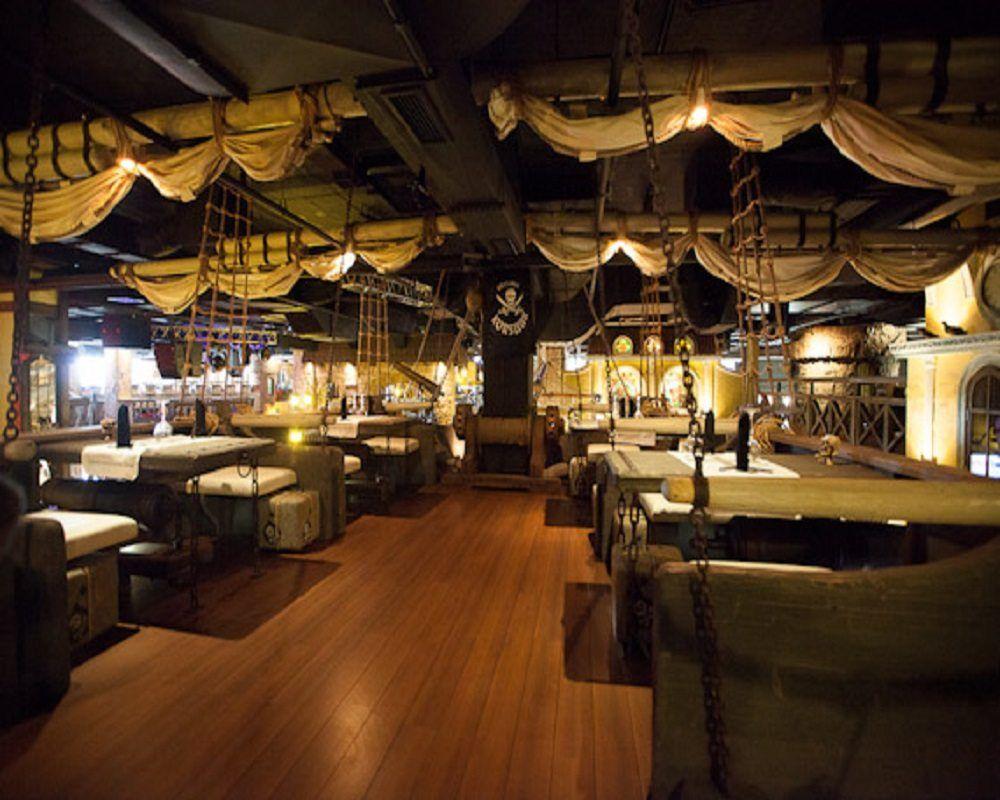 jenorow a pirate themed schooner gourmet restaurant in korsaar