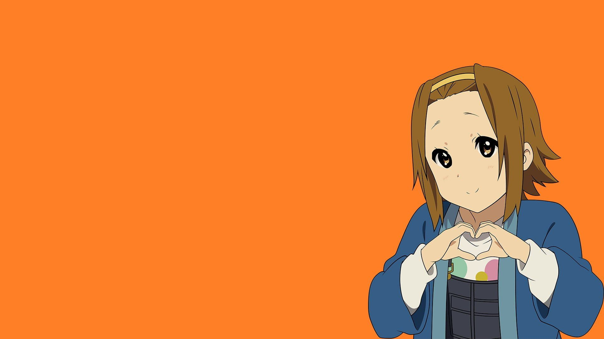 HD wallpaper: Anime, K-ON!, Ritsu Tainaka