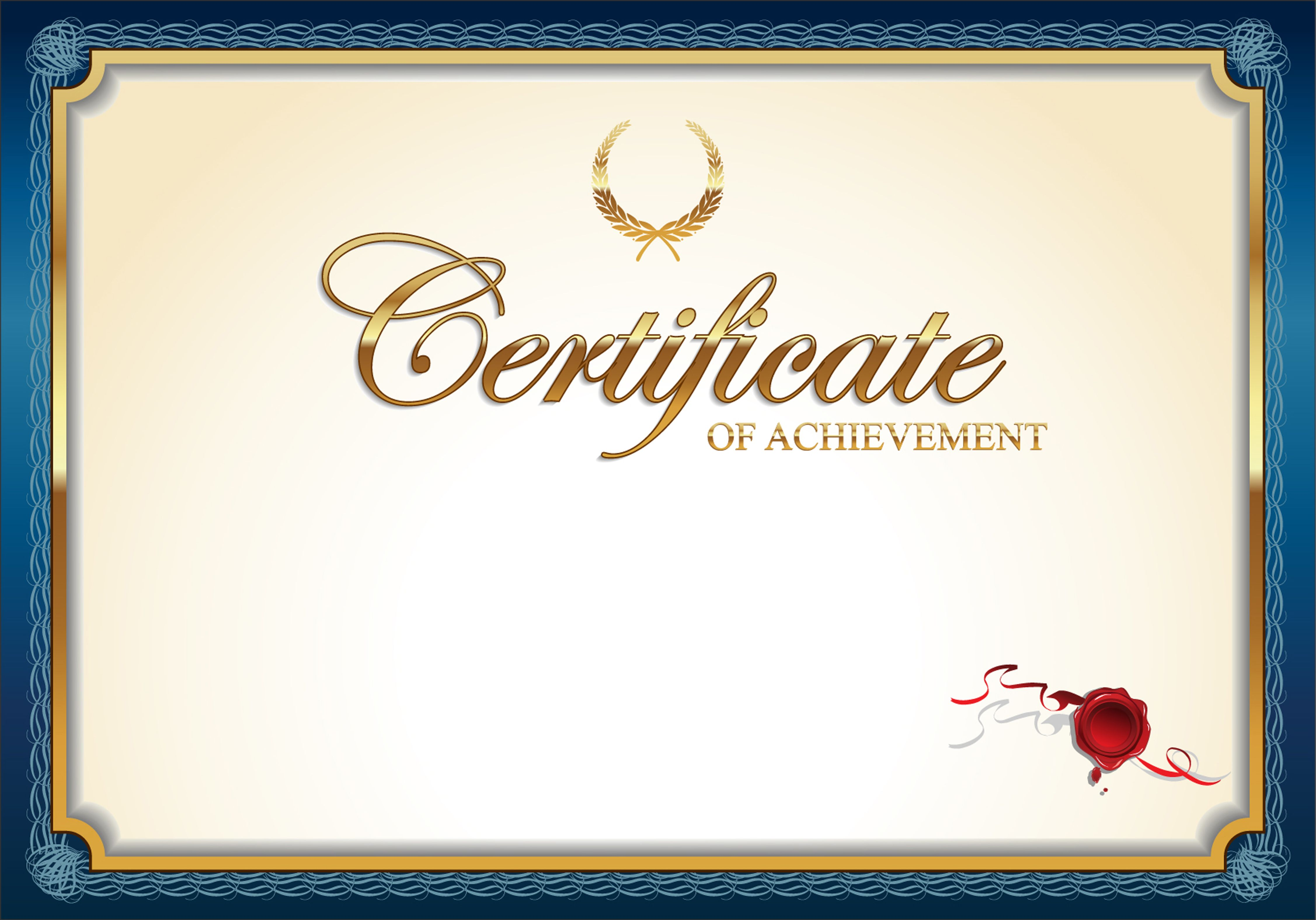 Certificate Templates Honor Of Authorization Credentials Border Card Art Decorative Leaf Certificate Background Certificate Design Certificate Design Template