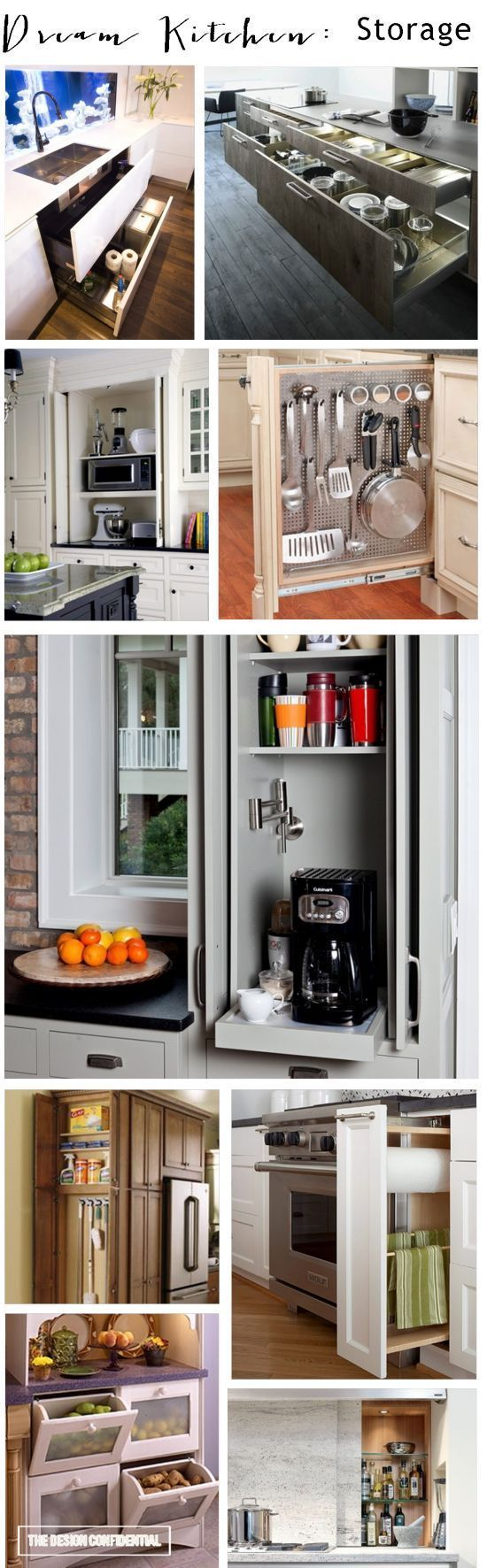 40 Clever Storage Ideas That Will Enlarge Your Space | Pinterest