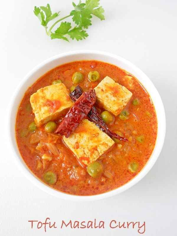 Tofu Matar Masala Curry | 28 Vegetarian Recipes That Are Even Easier Than Getting Takeout