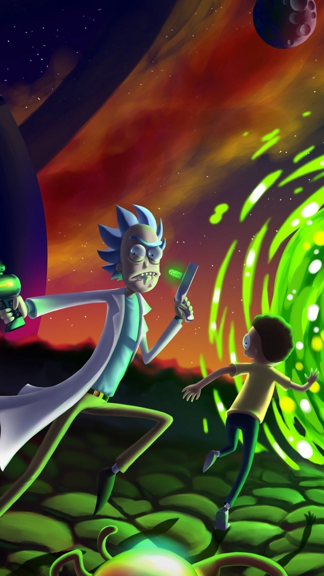 Rick And Morty Android Wallpaper Best Movie Poster Within Rick Y Morty Wallpaper Android In 2020 Rick And Morty Poster Cartoon Wallpaper Hd Rick And Morty