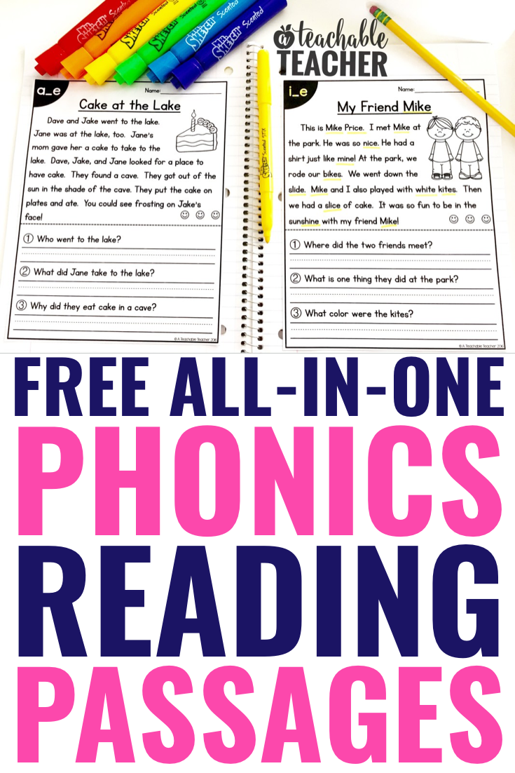 Free Phonics Reading Passages Students Love To Read Phonics Reading Passages Phonics Reading Reading Passages [ 1102 x 735 Pixel ]