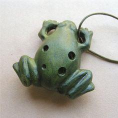 Frog ocarina, kikkers kunnen fluiten?