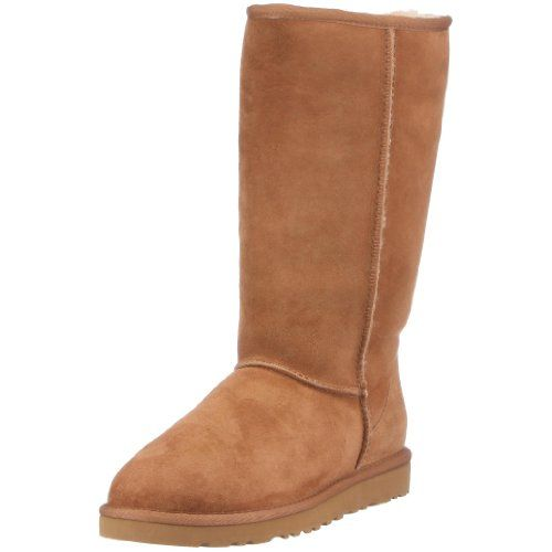 UGG Australia Womens Classic Tall Chestnut Boot - 6