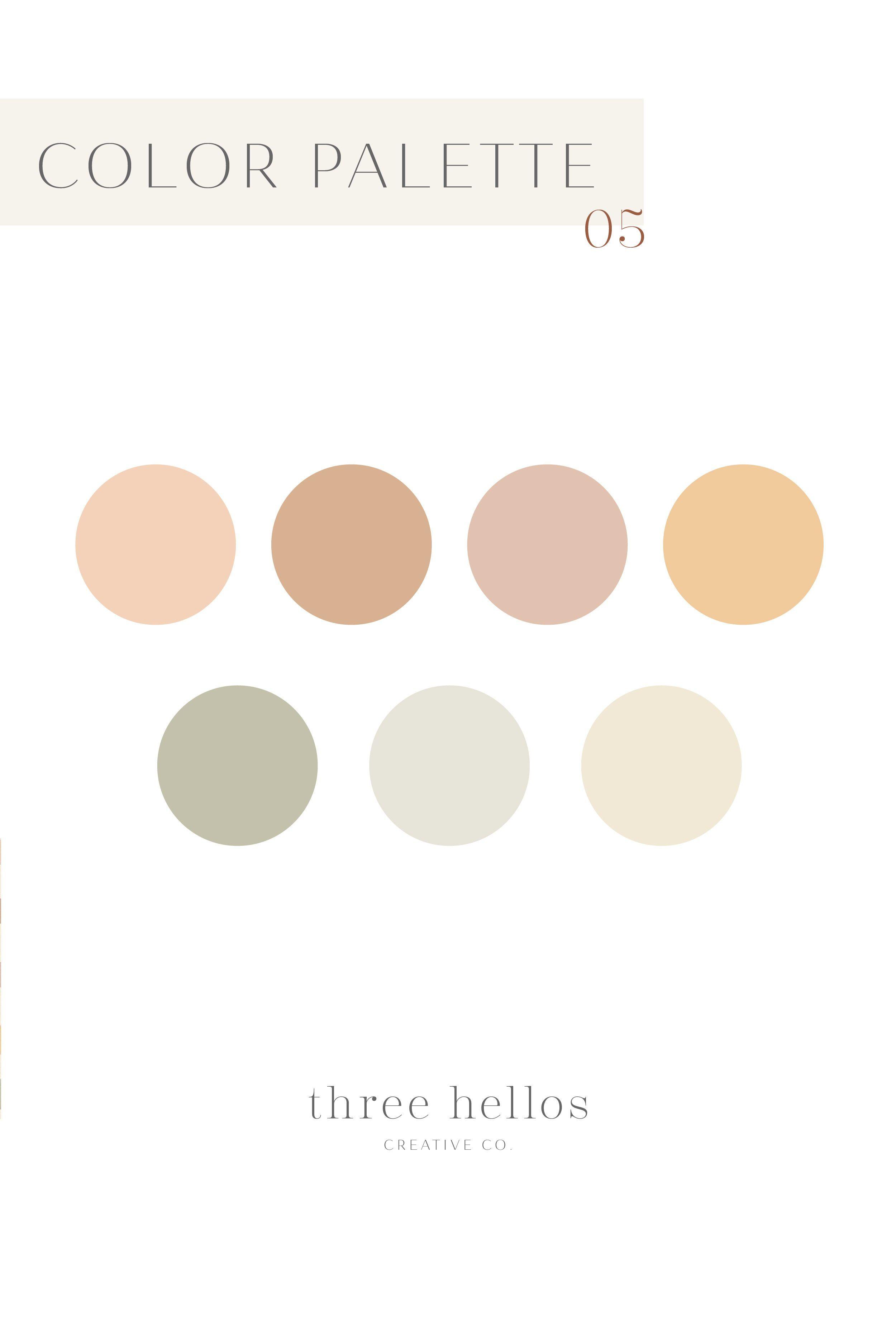 Neutral Earth Tone Bohemian Color Palette Neutral Wedding Color