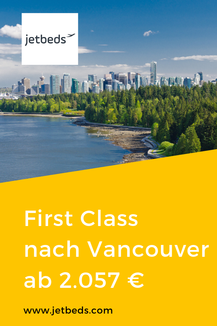 British Airways First Class nach Vancouver ab 2.057 € mit
