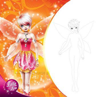 E Inspiracje Lilla Lou Magic Kwadrat Kolorowanka 1330878690