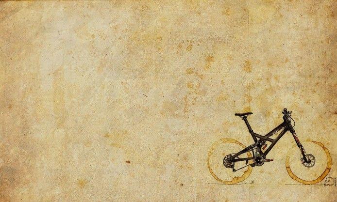 Mountain Bike Art Hd Wallpaper Magic4walls Com Mountain Bike Art Bike Art Vintage Art