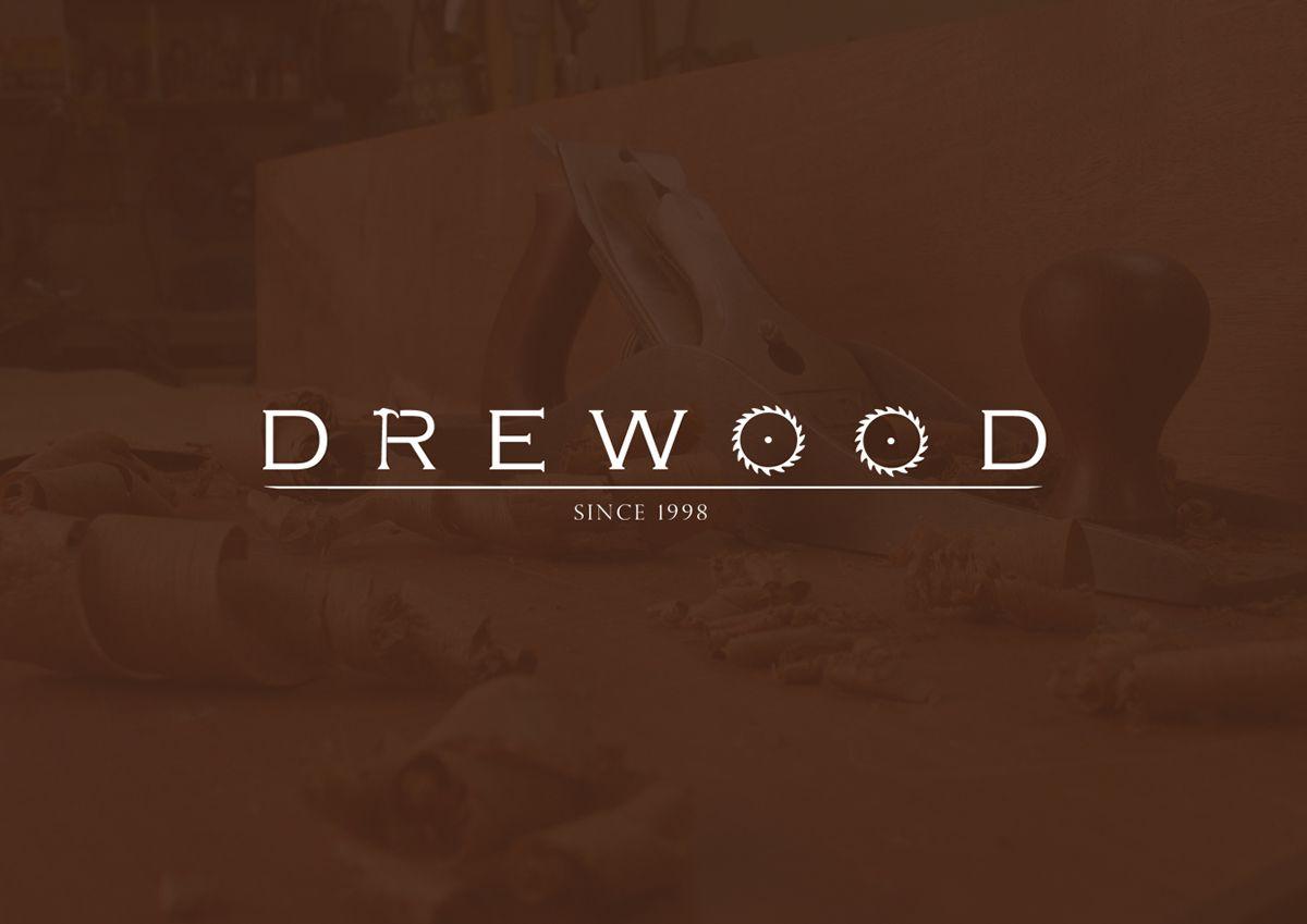 Drewood Carpenter Logo Design On Behance My Work Logo Design