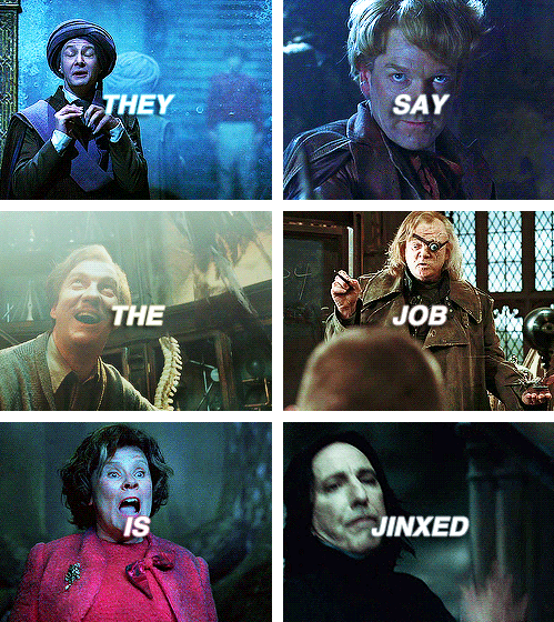 They Say The Job Is Jinxed Harry Potter Universal Harry Potter